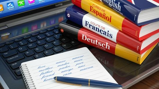 Translation services from/to the following languages